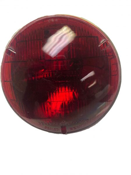 Red Sealed Beam